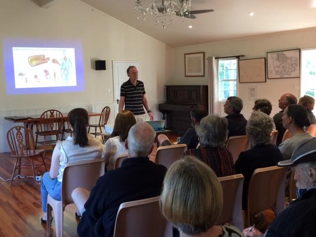 Dr Cranney talk1